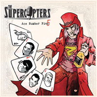 Cover The Supercopters Ace Number 5