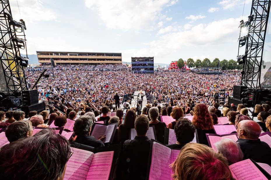 Concert Stabat Mater de Rossini (© Photo Paléo/Lionel-Flusin)