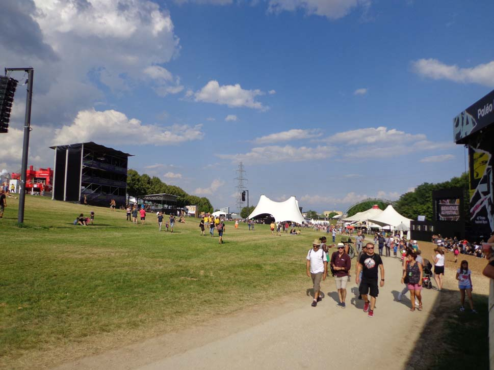 Ambiance ouverture du Paléo Festival