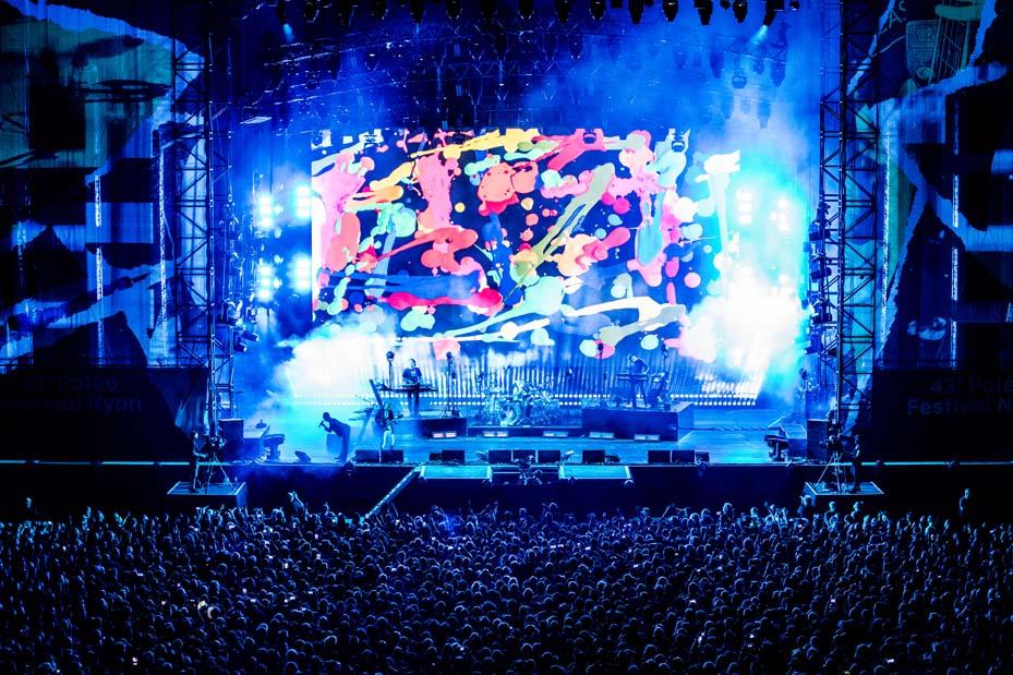 Concert Depeche Mode (© Photo Paléo/Nicolas-Patault)