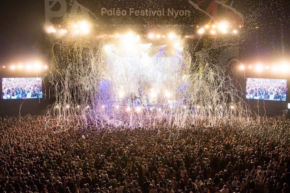 Concert The Killers (© Photo Paléo/Laurent-Gillieron)