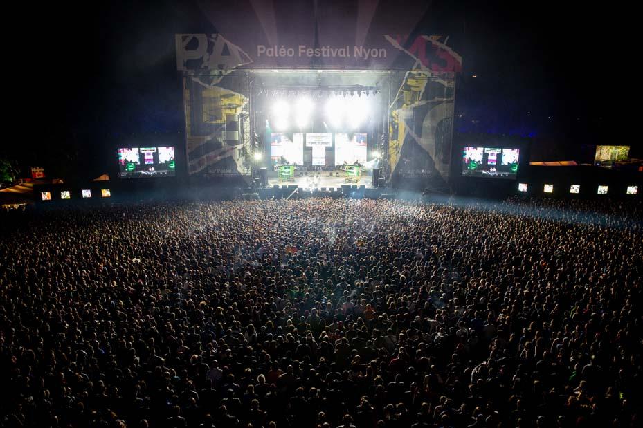 Concert Supreme NTM (© Photo Paléo/Ludwig-Wallendorff)