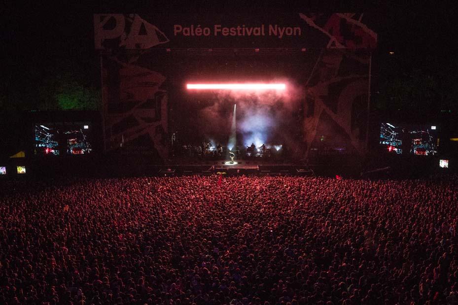 Concert Orelsan (© Photo Paléo/Nicolas-Patault)