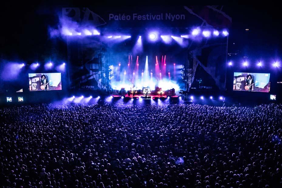 Concert Lenny Kravitz (© Photo Paléo/Laurine-Mottet)