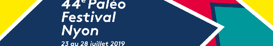 Affiche Paléo 2019