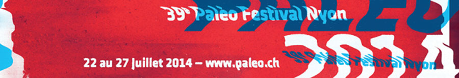 Affiche Paléo 2014