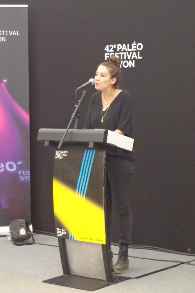 Conférence de presse - Michèle Müller