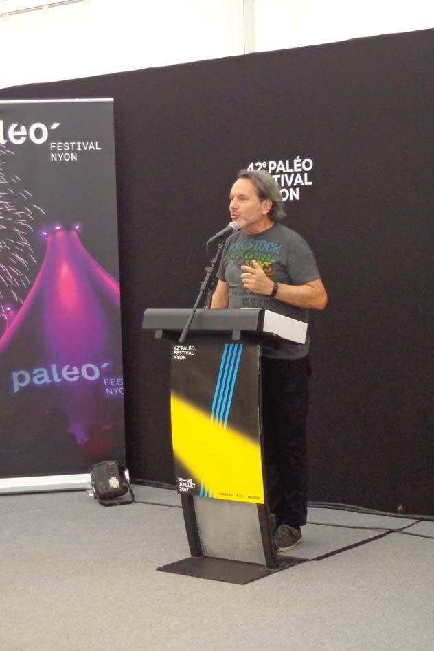 Conférence de presse - Jacques Monnier