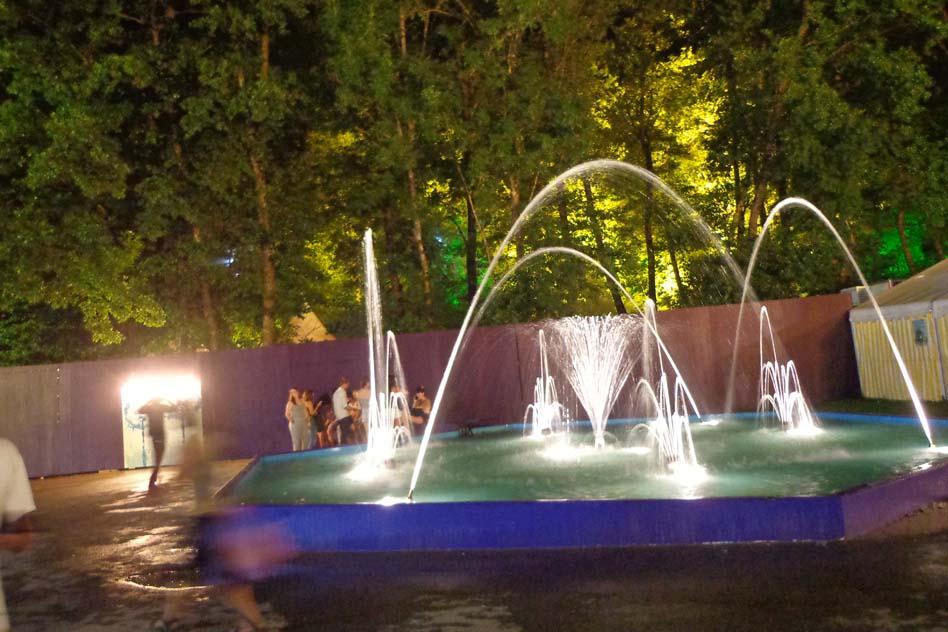 La fontaine du Paléo