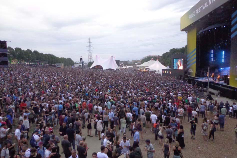 Ambiance concert des Pixies